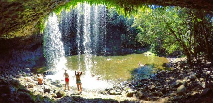 Mount Warning And Minyon Falls Northern Nsw Australia